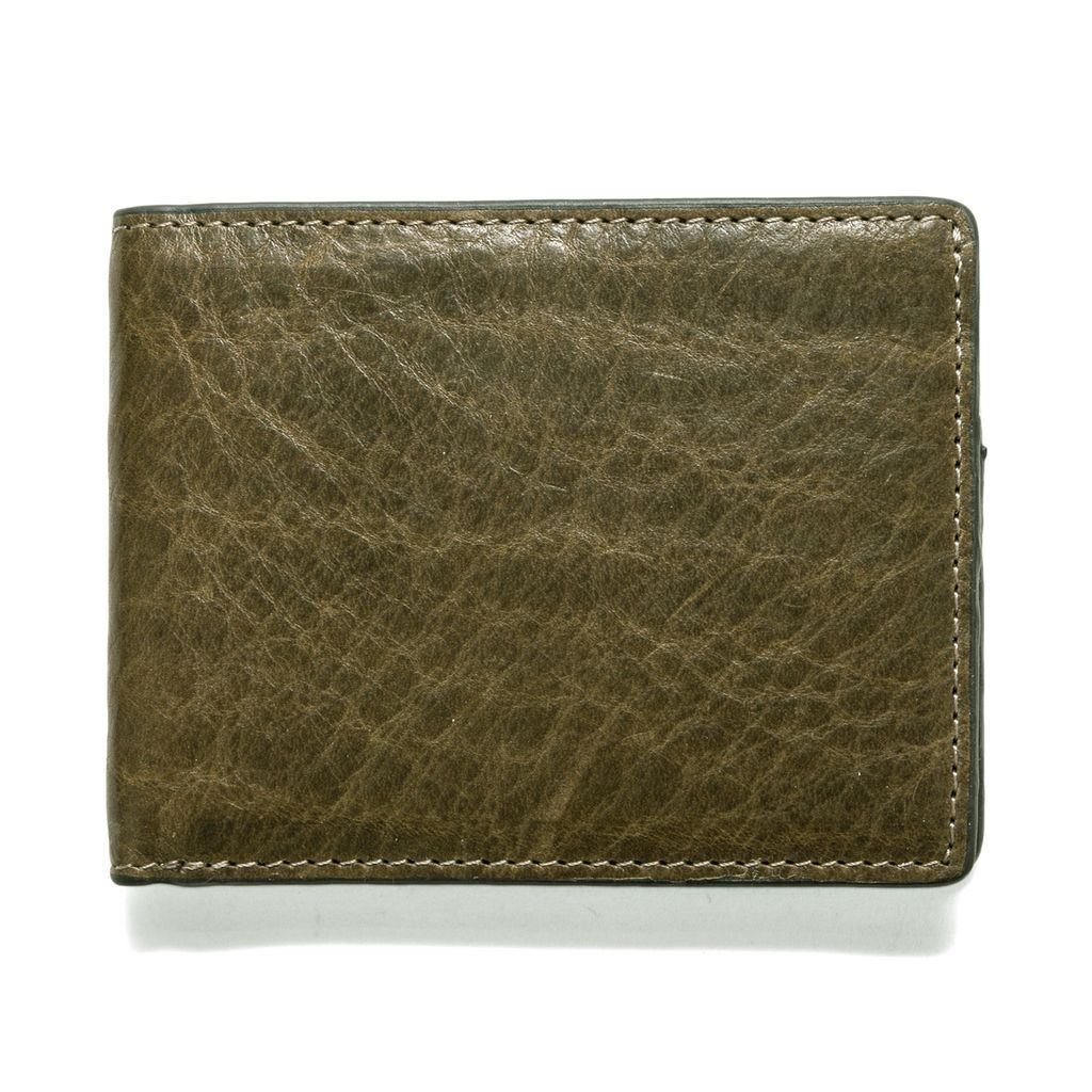 J.FOLD Leather Wallet Torrent - Olive